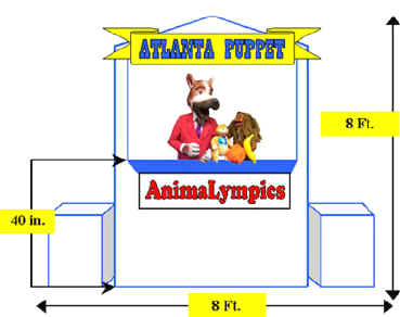 animalympic stage diagram with puppets-resize-2.jpg (72943 bytes)
